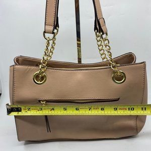 Bags - Nicole Tan Leather Shoulder Bag